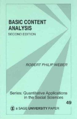 Basic Content Analysis (Paperback)