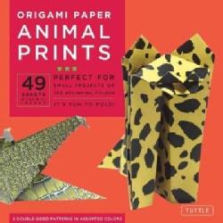 Origami Paper Animal Prints (Paperback)