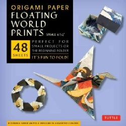 Origami Paper Floating World Prints Small 6 3/4 (Paperback)