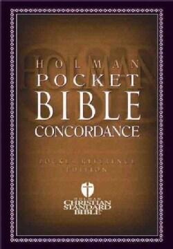 Holman Pocket Bible Concordance (Paperback)