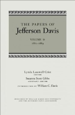 The Papers of Jefferson Davis: 1880-1889 (Hardcover)