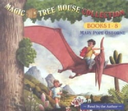 Magic Tree House Collection Books 1-8: Dinosaurs Before Dark/Knight at Dawn/Mummies in the Morning/Pirates Past No... (CD-Audio)