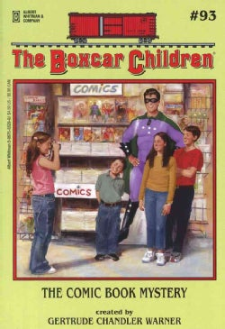 The Comic Book Mystery (Paperback)