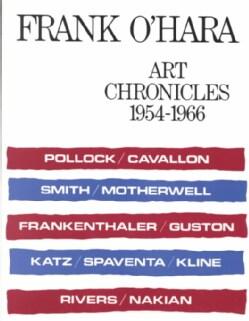 Art Chronicles: 1954-1966 (Paperback)