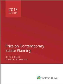 Price on Contemporary Estate Planning 2015 (Paperback)