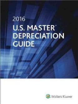 U.S. Master Depreciation Guide 2016 (Paperback)