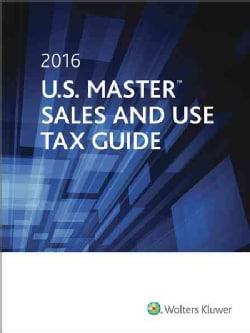 U.s. Master Sales & Use Tax Guide 2016 (Paperback)