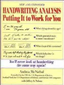 Handwriting Analysis: Putting It to Work for You (Paperback)