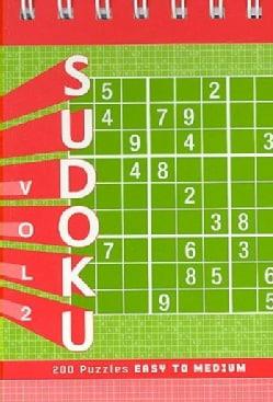 Sudoku Puzzle Pad: Easy to Medium (Hardcover)