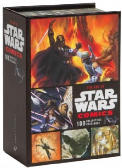 The Art of Star Wars Comics: 100 Collectible Postcards (Postcard book or pack)