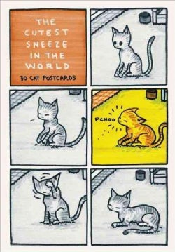 The Cutest Sneeze in the World: 30 Cat Postcards (Postcard book or pack)