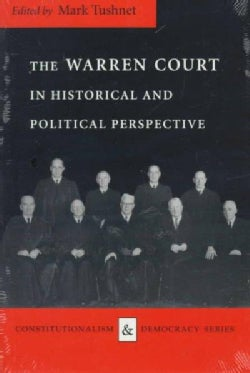 The Warren Court in Historical and Political Perspective (Hardcover)