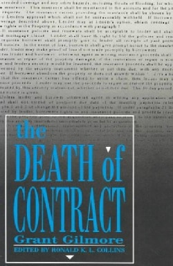 The Death of Contract (Paperback)