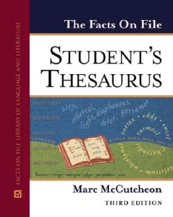 The Facts On File Student`s Thesaurus (Hardcover)