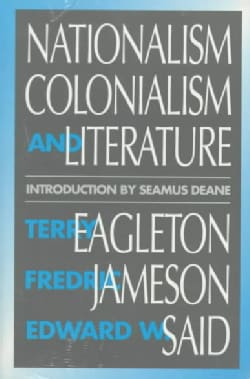 Nationalism, Colonialism, and Literature (Paperback)