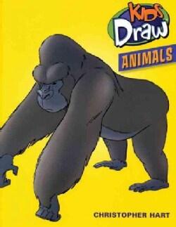 Kids Draw Animals (Paperback)