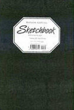 Watson-Guptill Sketchbook: Black Large Pellaq (Hardcover)