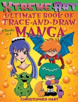 Xtreme Art Ultimate Book of Trace-and-Draw Manga (Paperback)