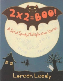 2 X 2 = Boo: A Set of Spooky Multiplication Stories (Paperback)