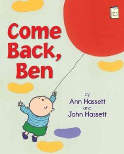 Come Back, Ben (Paperback)
