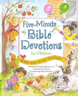 Five Minute Bible Devotions for Children: Stories from the Old Testament (Hardcover)