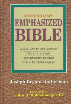 Rotherham Emphasized Bible: A Literal Translation (Hardcover)