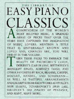 Library of Easy Piano Classics (Paperback)