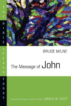The Message of John: Here Is Your King! : With Study Guide (Paperback)