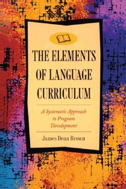 Elements of Language Curriculum