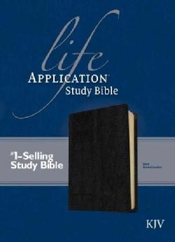 Life Application Study Bible: King James Version, Black Bonded Leather (Paperback)
