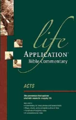 Life Application Bible Commentary: Acts (Paperback)