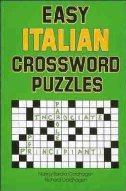 Easy Italian Crossword Puzzles (Paperback)