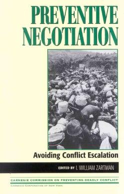 Preventive Negotiation: Avoiding Conflict Escalation (Paperback)