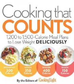 Cooking That Counts: 1,200 to 1,500 Calorie Meal Plans to Lose Weight Deliciously (Paperback)
