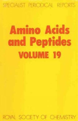 Amino Acids and Peptides (Hardcover)
