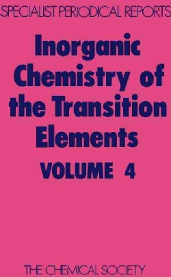 Inorganic Chemistry of the Transition Elements (Hardcover)