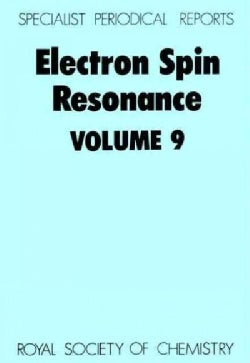 Electron Spin Resonance (Hardcover)