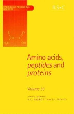 Amino Acids, Peptides And Proteins (Hardcover)