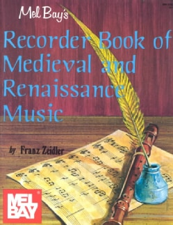 Recorder Book of Medieval & Renaissance Music (Paperback)
