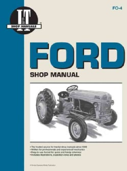 Ford Shop Manual Series 2N, 8N, 9N (Paperback)