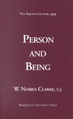 Person and Being (Paperback)