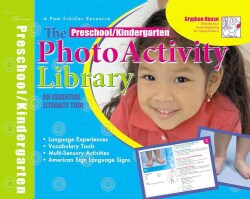 Preschool Photo Activity Library: An Essential Literacy Tool (Cards)
