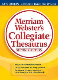 Merriam-Webster's Collegiate Thesaurus (Hardcover)