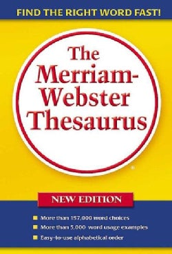 The Merriam-Webster Thesaurus (Paperback)