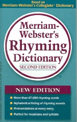 Merriam-Webster's Rhyming Dictionary (Paperback)