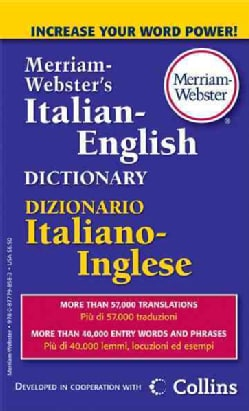 Merriam-Webster's Italian-English Dictionary (Paperback)