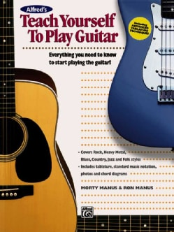 Alfred's Teach Yourself to Play Guitar (Paperback)