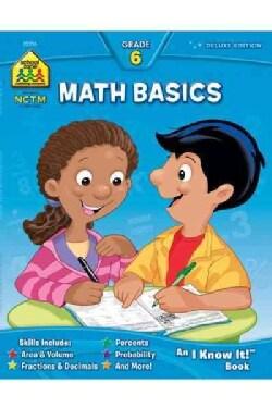 Math Basics 6 (Paperback)