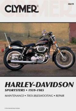 Harley-Davidson Sportsters 1959-1985, Service, Repair, Maintenance (Paperback)