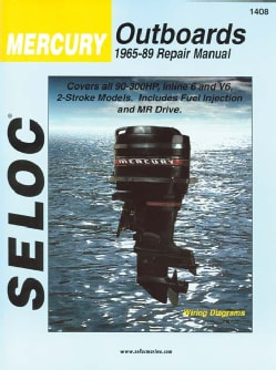 Seloc Mercury Outboards 1965-89 Repair Manual (Paperback)
